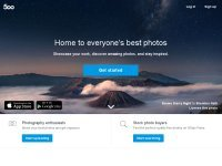 500px.com screenshot