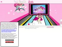 barbie.com screenshot