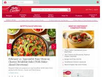 bettycrocker.com screenshot