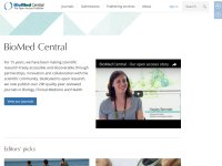 biomedcentral.com screenshot