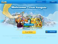 clubpenguin.com screenshot