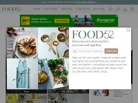 food52.com screenshot