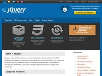 jquery.com screenshot