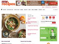 myrecipes.com screenshot