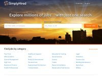 simplyhired.com screenshot
