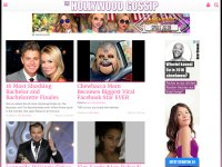 thehollywoodgossip.com screenshot