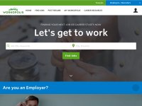 workopolis.com screenshot